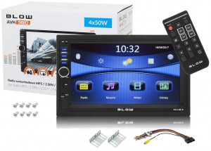 "RADIO 2DIN 7"" BLOW AVH-9810 BLUETOOTH USB SD"