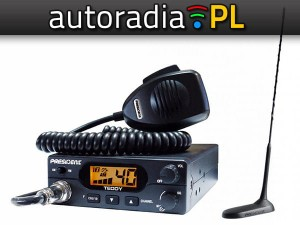 CB RADIO TEDDY ASC + Virginia MAG +4xGRATIS