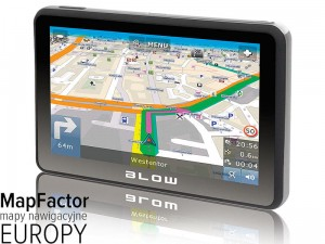 BLOW GPS580 Sirocco + Mapy PL + Europa